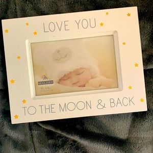 ⭐️ Love You To The Moon & Back 4*6 Picture Frame